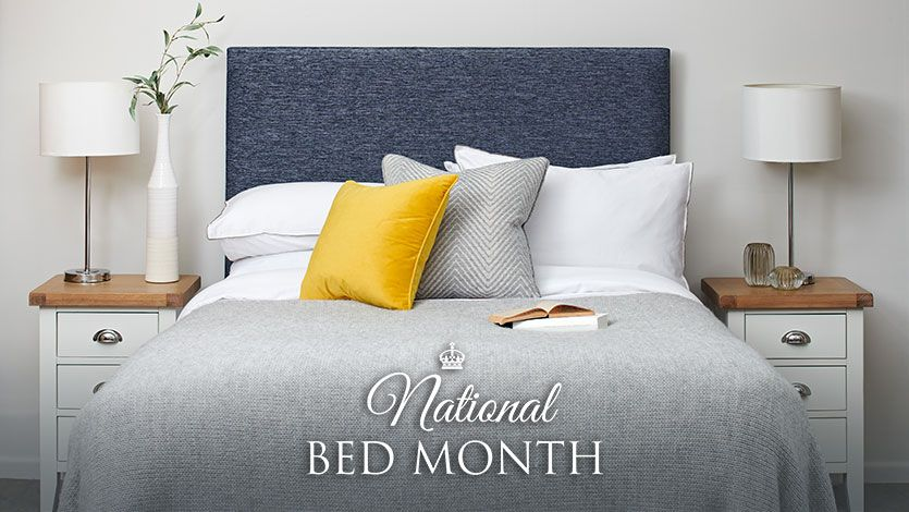National Bed Month: 7 Ways To Get A Good Nights Sleep