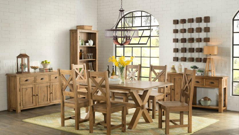 Oak Furniture Series: Rustic Oak Furniture