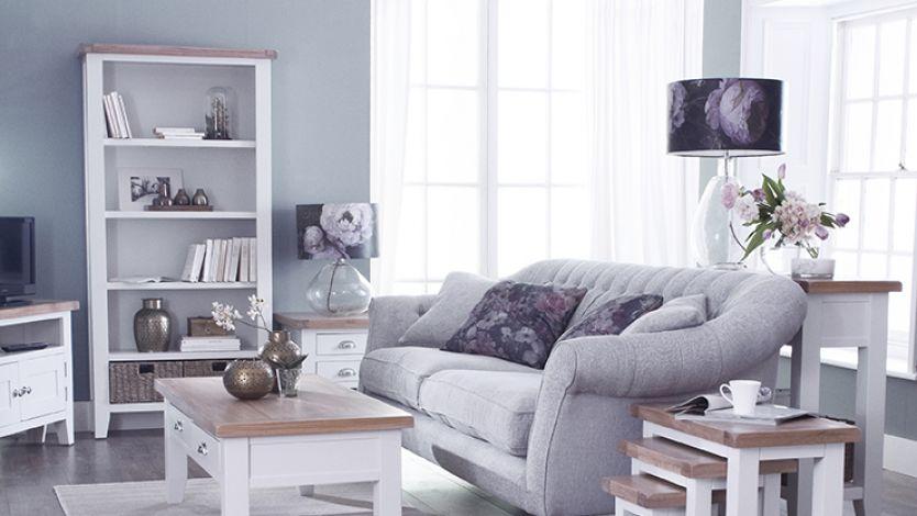 Springtime Shabby Chic Living Room, Shabby Chic Living Room