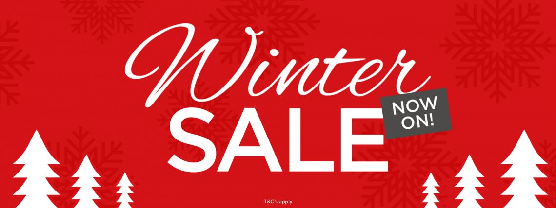 Woods Winter Sale Now On!