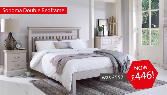 Sonoma Double Bedframe Now £446!