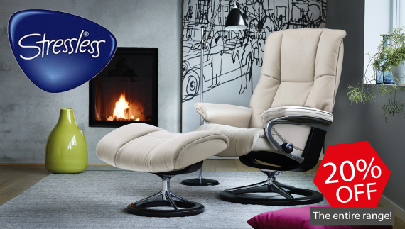20% Off All of Stressless