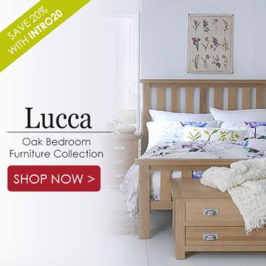 Lucca Oak Bedroom Furniture Collection