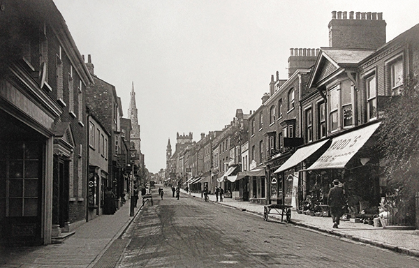 48 High East Street in 1913