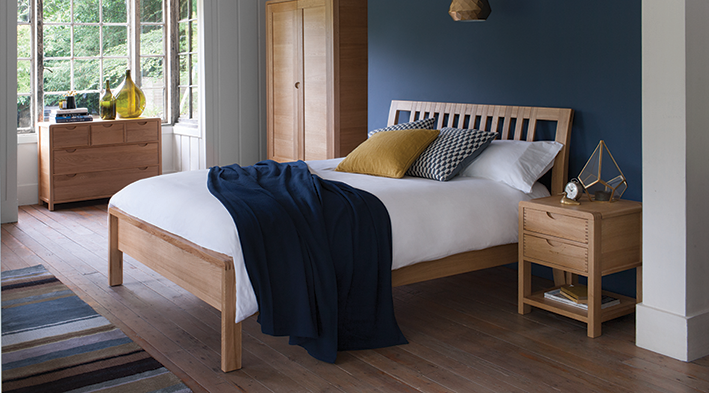 Ercol Bosco bedroom furniture
