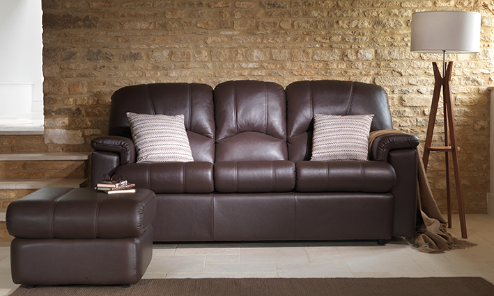 G Plan leather sofas