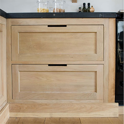 Neptune Kitchens - Bare Wood Finish