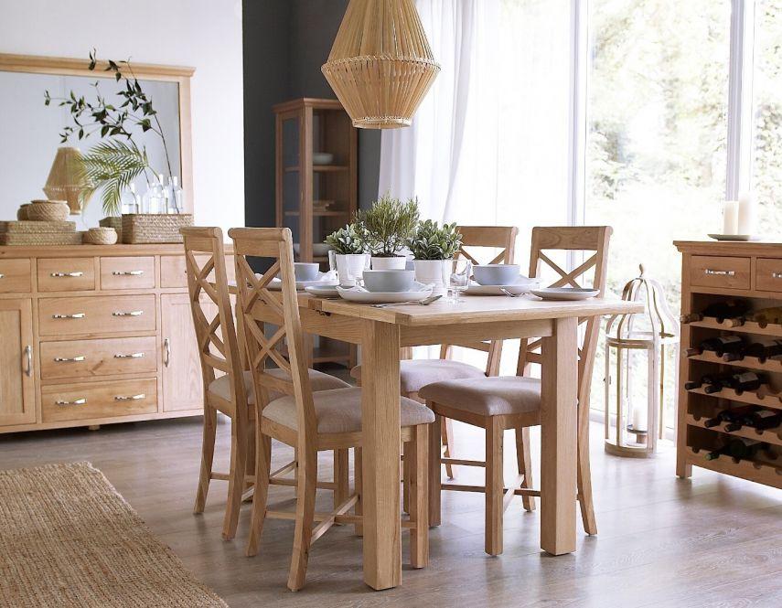 Solid Oak Furniture Modern, Modern Oak Dining Room Chairs